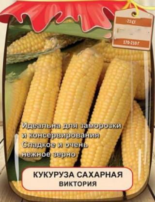 Кукуруза сахарная Виктория - Семена Тут