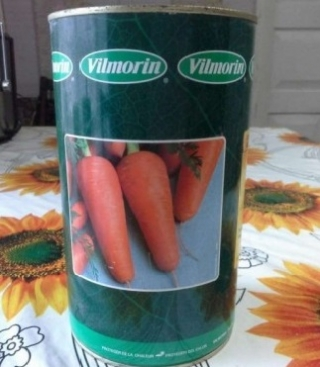 Морковь Ред Кор (банка) - Семена Тут