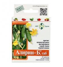 АЛИРИН-Б от комплекса грибных болезней  20табл/упак - Семена Тут