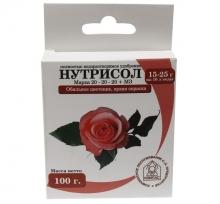 Нутрисол для роз (20-20-20+микроэлементы) 100 г - Семена Тут