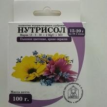 Нутрисол для цветов (15-5-30+2 Мg+микроэлементы) 100гр - Семена Тут
