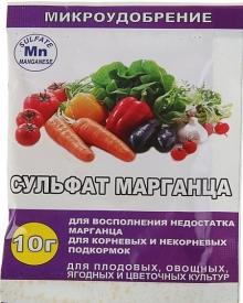Сульфат марганца микроудобрение (10гр) - Семена Тут