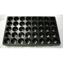 Кассета для рассады 520 х 310 х 50 мм 40 ячеек(круглые), полистирол - Семена Тут