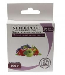 Универсол Плодово-ягодный (10+10-30+микроэлементы) 100 гр - Семена Тут
