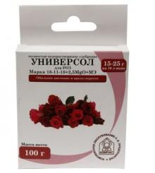 Универсол Роза (18-11-18+микроэлементы) 100 гр - Семена Тут